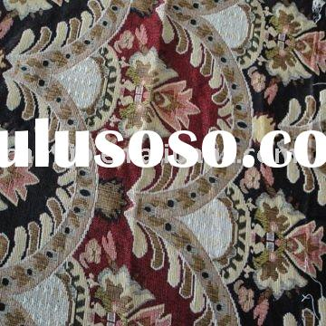 Full polyester upholstery jacquard chenille fabric(woven)
