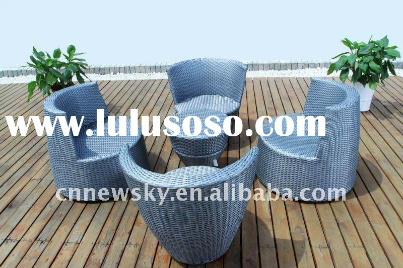 GARDEN OUTDOOR RATTAN WICKER FURNITURE SOFA SET