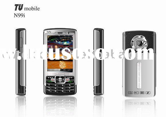 GSM 900/1800/1900 Mhz TV-Mobile phone N99i