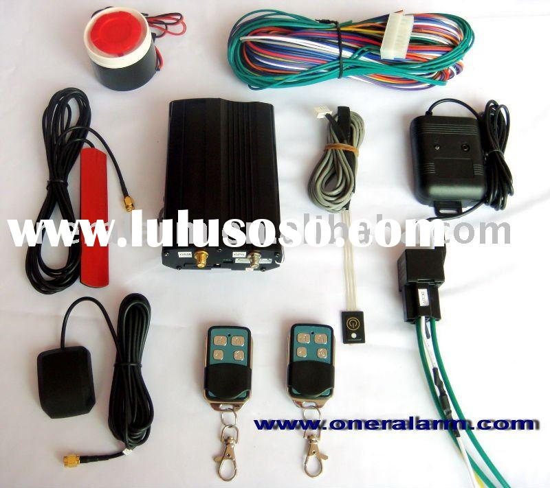 GSM two way car alarm with remote engine start/stop/GSM car alarms