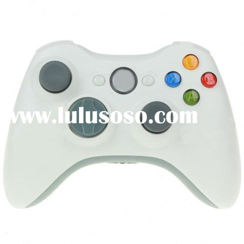 Game Wireless Controller for XBox 360 - White (2 x AA)