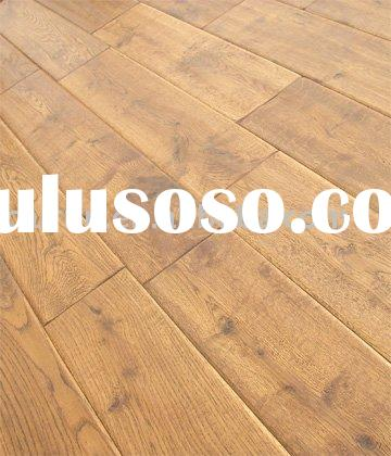 Golden wheat Oak wood flooring (Oak wood flooring,Hardwood flooring