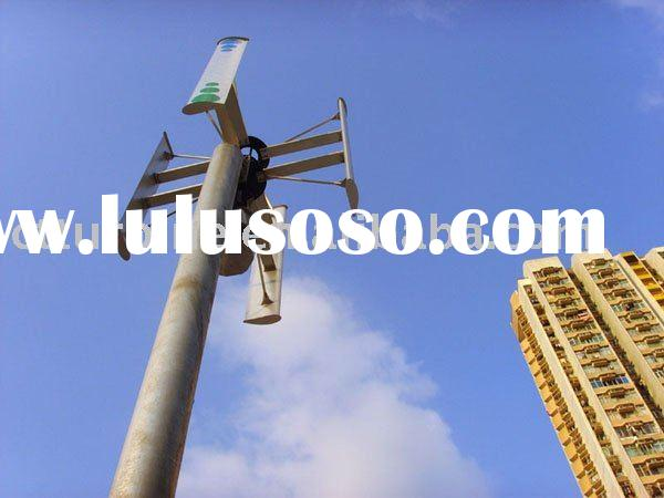 Grid Tied Vertical Wind Turbine 1KW-5KW