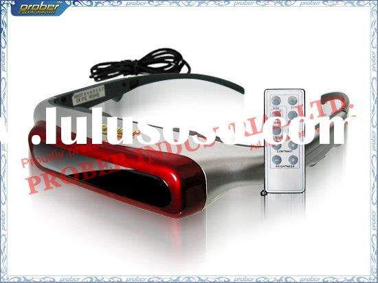HOT 3D Vision Video Eye wear/3D HMD/3D Video Goggles/3D Video Glasses/3D Glasses with 80inch Screen