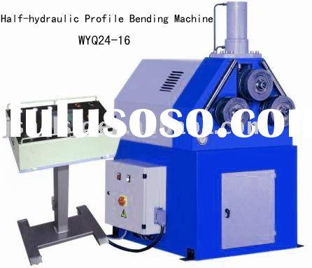 Half-hydraulic Profile Bending Machine WYQ24-16&Pipe and Tube Bending Machine&profile bender