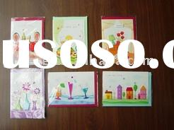 Hand made greeting card/professional greeting card/gift card/ everyday card kits manufacture&sup