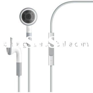 Headset Earphone with Remote and Mic for iPod iTouch iPad iPhone