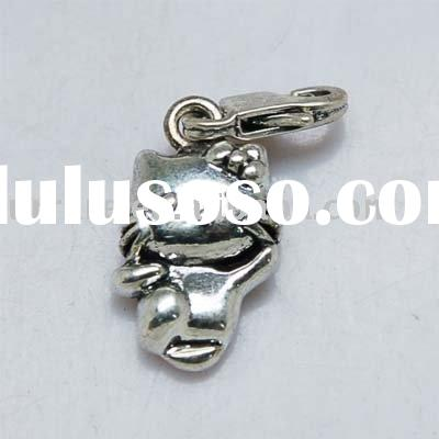 Hello Kitty Alloy Charm with Lobster Jewelry Accessories
