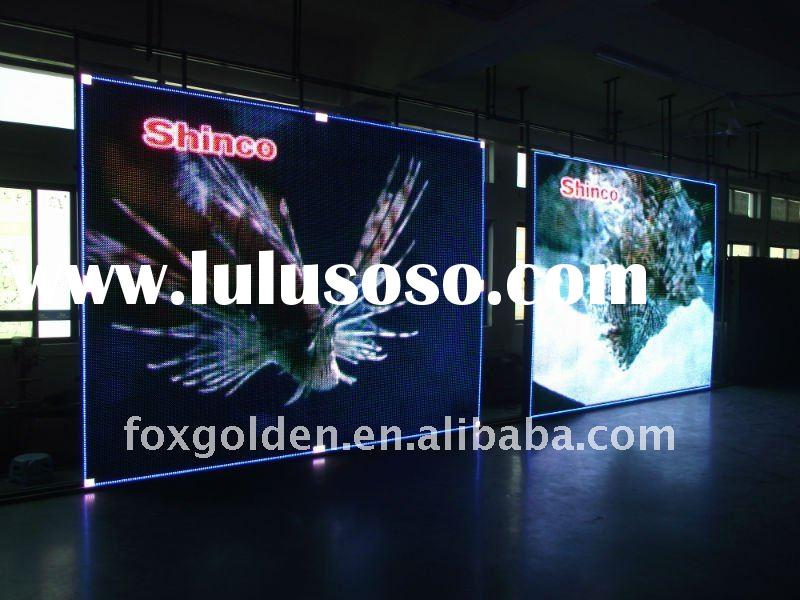 High brightness P16 Outdoor stadium/GYM full color led display board price