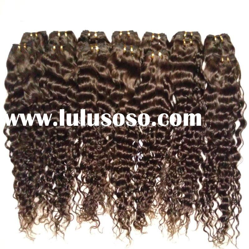 Homeage 100% indian curly natural hair weaving hot sale