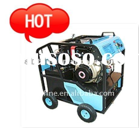 Hot!! Diesel driven hot water high pressure washer