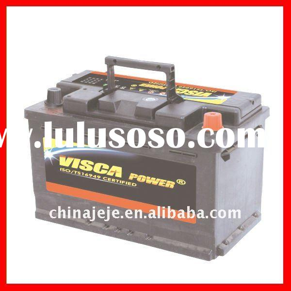 Hot Produce and Export Various Color Lead Acid Low Maintenance, Wet Charge or Dry Vehicle Battery MF