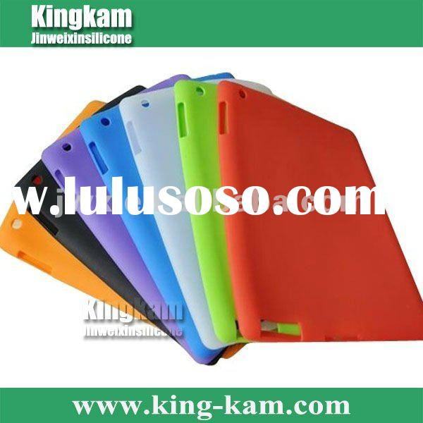 Hot Silicone Skin case for ipad 2