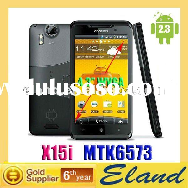 Hot sale X15i GSM+WCDMA MTK 6573 GPS WIFI TV 3G mobile phone