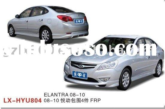 Hyundai Elantra car fiberglass body kits (4 pieces)