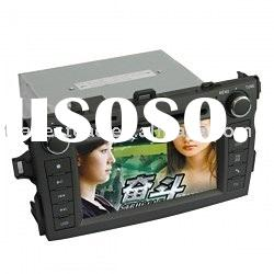 In Dash Car DVD Player - 7 inch Car In-dash DVD Player for Toyota Corolla with Touch Screen - TV - B