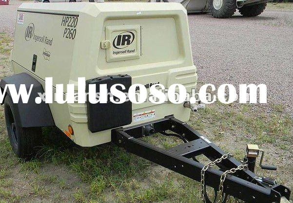 Ingersoll Rand portable air compressor;screw air compressor;lubricated type compressor P260,LOW PRES