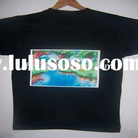 Ink jet dark heat transfer paper for t shirt