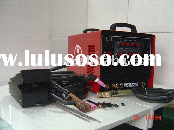 Inverter AC DC PULSE TIG-MMA Welding Machine/TIG Welder for Aluminum Welding/Free foot pedal