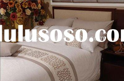 JACQUARD COTTON BED COVER, BED SHEET, BEDDING SET