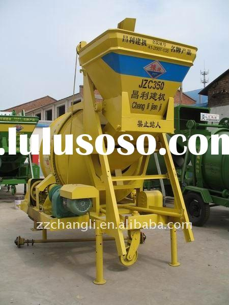 JZC350 Mobile Cement Mixer, Mini Concrete Cement Batching Plant, Portable Mixer,Mobile Cement Mixing