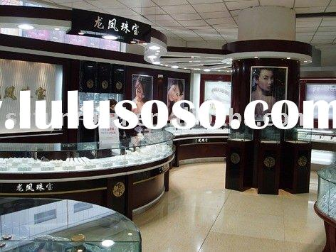 Jewelry Display Case And Showcase With LED Light