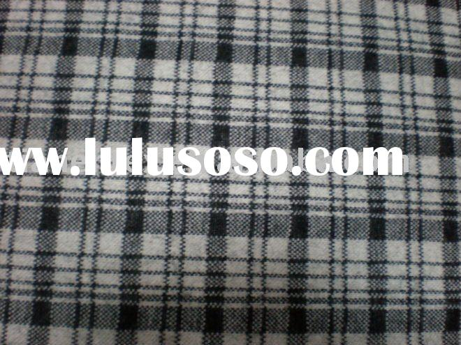 KNIT FABRIC, PLAID/CHECK FABRIC,WOOL FABRIC
