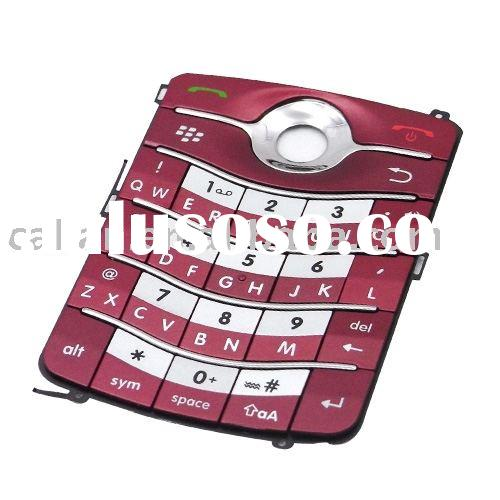 Keypad Keyboard buttons for BlackBerry Pearl Flip 8220 (Red color)