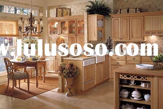 Kitchen Cabinets with Granite Counter Tops and Copper Sinks (Southwest Birch)