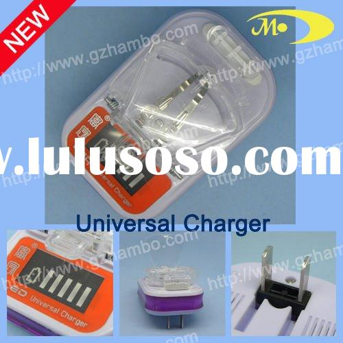 LCD universal charger for mobile battery