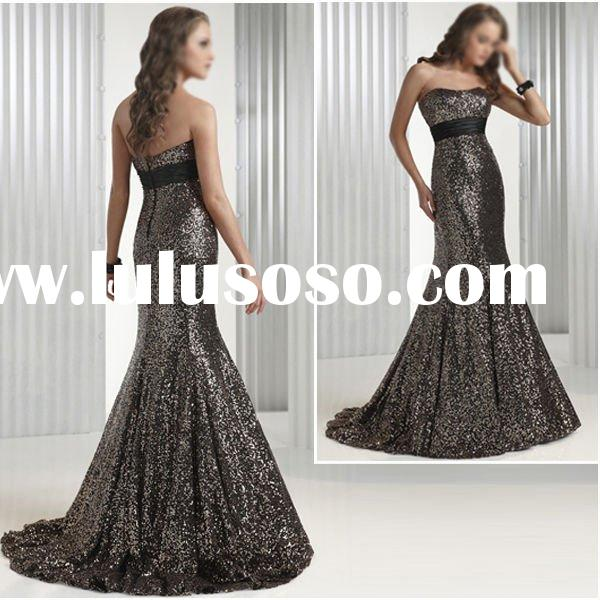 LD547 Charming Strapless Formal Evening Dress