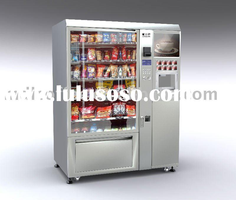 LV-X01 Snack/cold drink and coffee vending machine