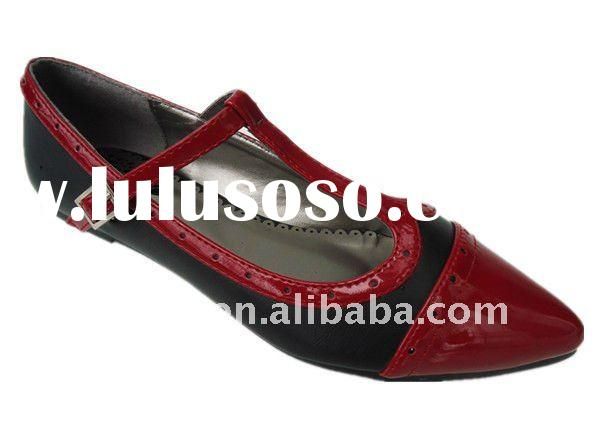 Ladies shoe leather