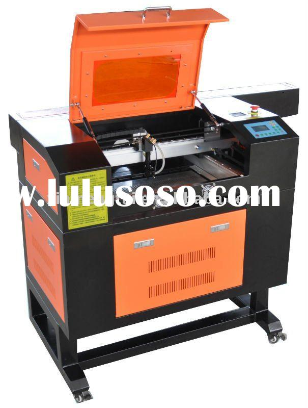 Laser engraving machine for the stamp of rubber, acrylic, plexiglass, bowlder, crystal, wood, plasti