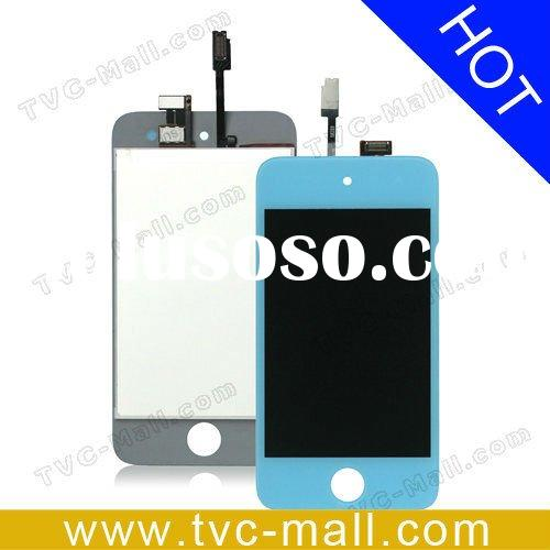 Lcd Digitizer Touch Screen Repair Parts for iPod Touch 4g - Baby Blue