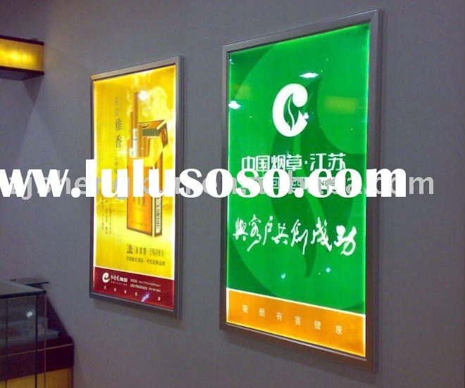Low Power Consumption High Brightness LED Aluminum advertising Light Box