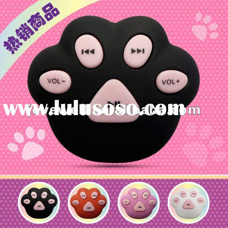 MP3 Player | Lovely cartoon cat claw mp3 | card reader