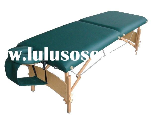MT-006B wooden portable beauty massage table