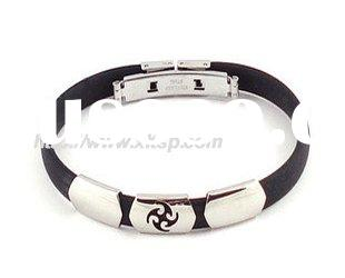 Magnetic silicone Bracelets power rubber bracelet