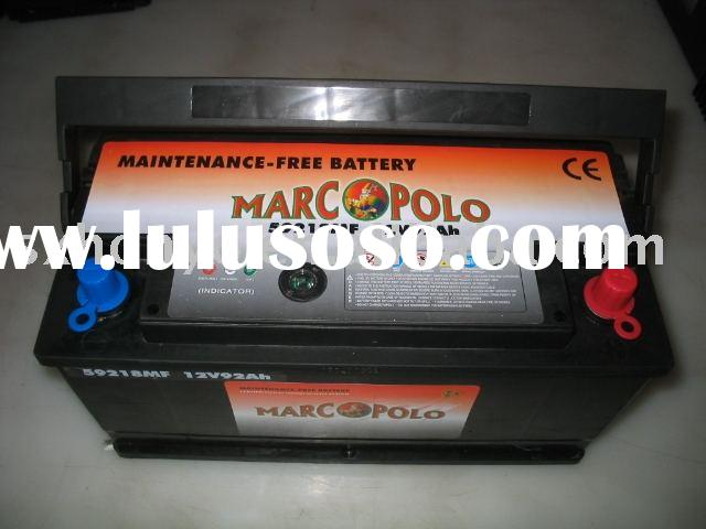 Maintenance Free Automotive Battery MF car battery