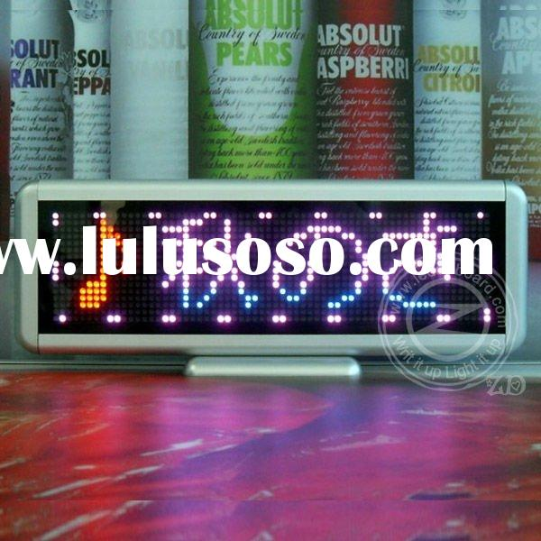 Marquee LED Floating Moving Message Display Sign Text