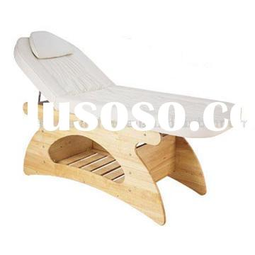 Massage Table (wooden massage bed, salon furniture, facial bed)