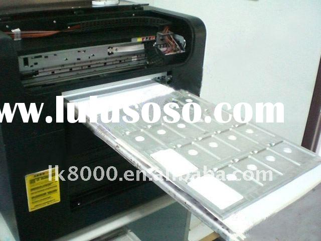 Metal plate flatbed Inkjet printer A3 size