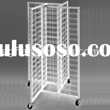 Mobile Display Stand / Video Display Shelf Rack