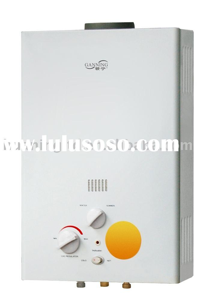 Natural Flue-Hydropower Generator Gas hot Water Heater