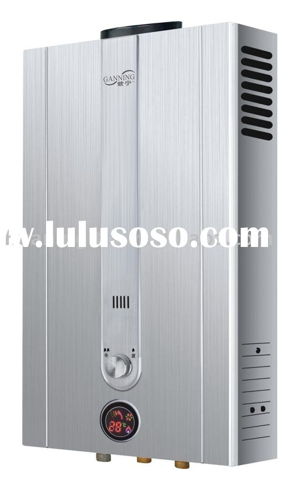 Natural Flue Temperature Display Instant Gas Water Heater