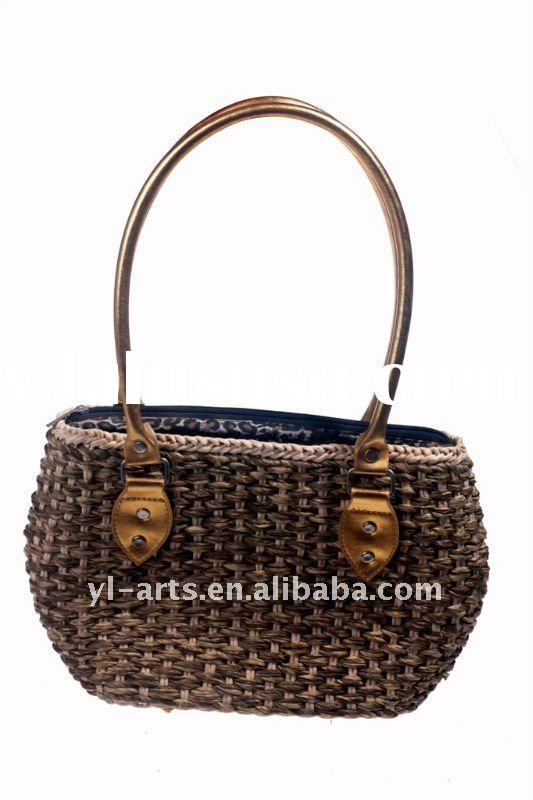 New style fashion ladies straw handbag
