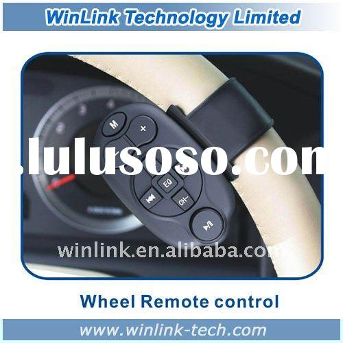 New universal car infrared steering remote control for Car DVD GPS MP3 Transmitter
