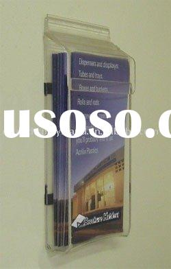 Outdoor literature holder,acrylic outdoor brochure holder, plexiglass outdoor brochure holder.lucite