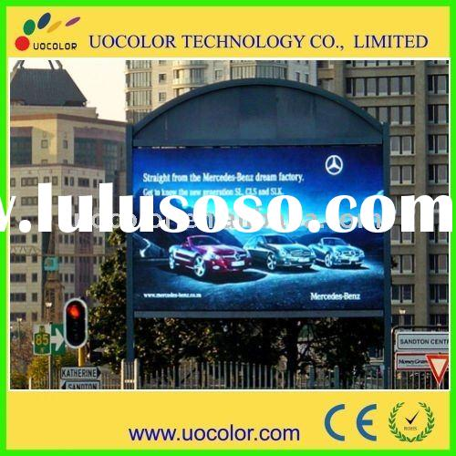 P12 Advertising for electronic full color led display with high resolution